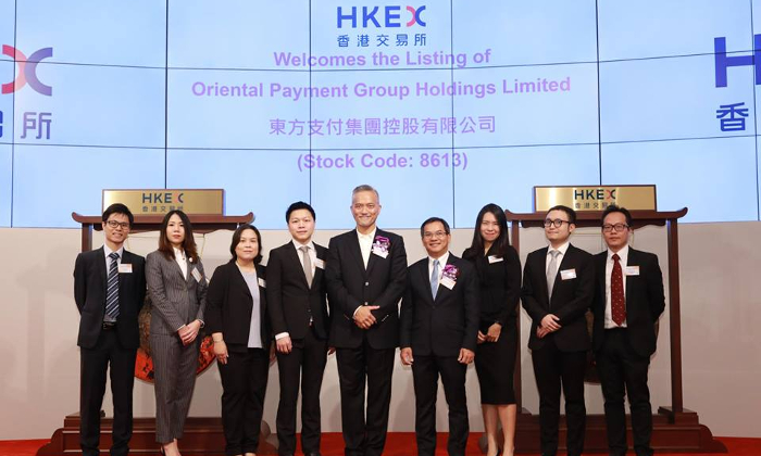 Congratulations Oriental Payment Group Holdings!