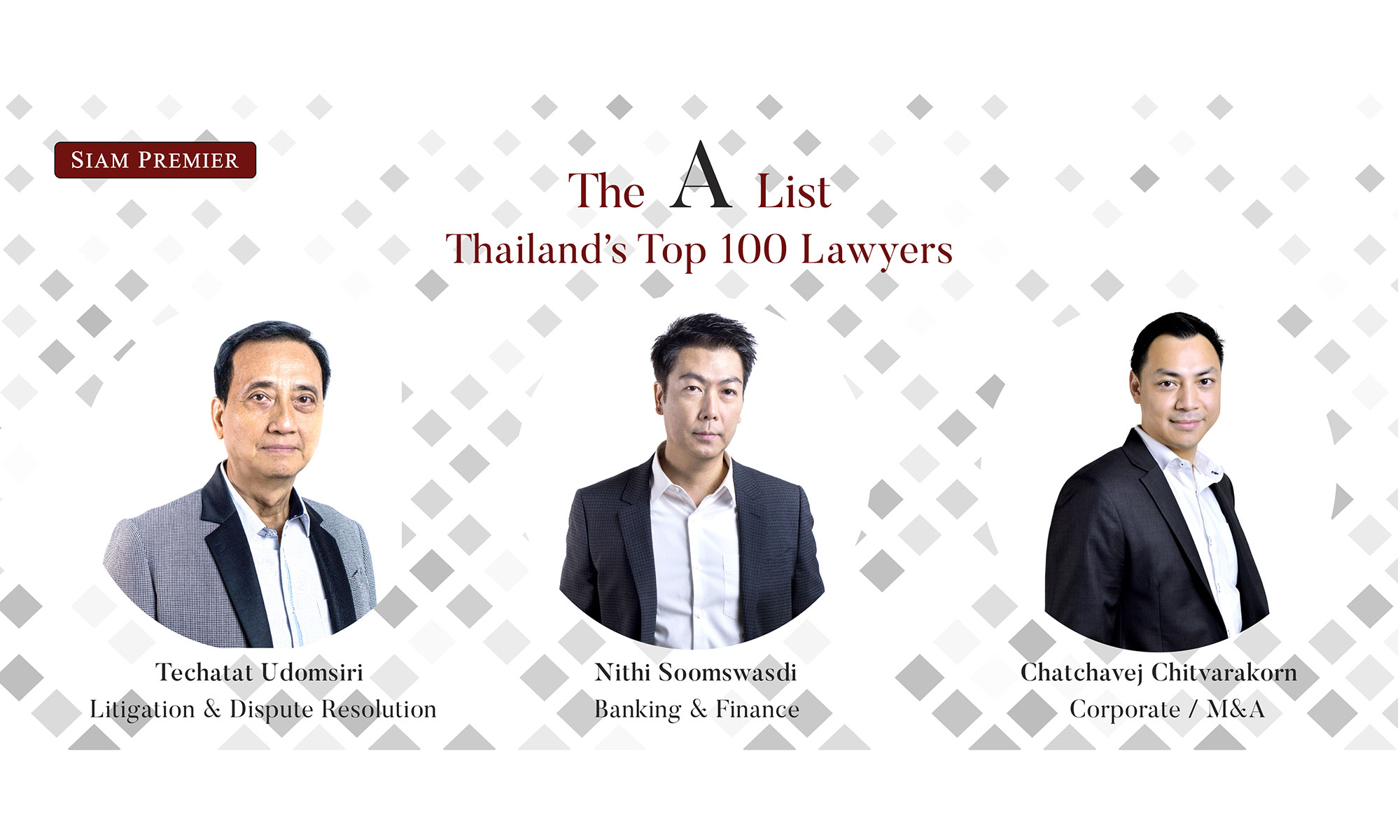 A-List Thailand's Top 100 Lawyers